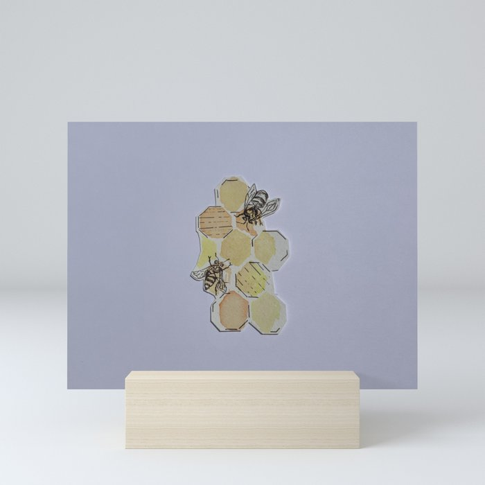 We Were Always Meant to Bee Mini Art Print