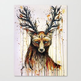 """""""God of the forest"""" Canvas Print"""