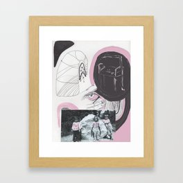 not sure what to call this Framed Art Print
