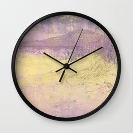 Impressions from Skye Wall Clock