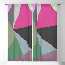 Vibrant Bohemian Geometric Shapes No.3 Blackout Curtain