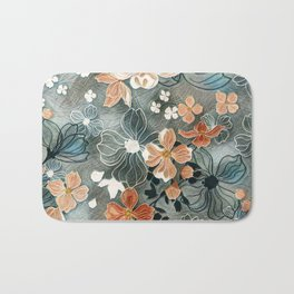 Fading Colors Bath Mat