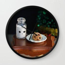 Cookies for Santa Wall Clock