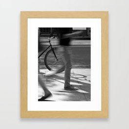Already Here (William Street, 2012) Framed Art Print