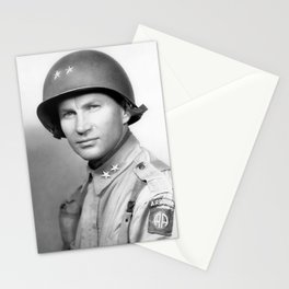 Major General James Gavin Stationery Cards