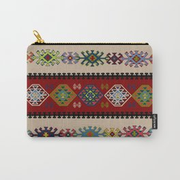 Kilim pattern #022 Carry-All Pouch