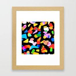so many shapes Framed Art Print