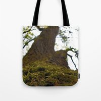 moss Tote Bags featuring Moss by Kallian