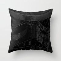 trooper Throw Pillows featuring Trooper by halx
