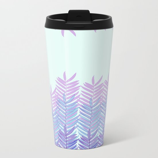 Floral 4 Metal Travel Mug