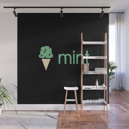 Ice Cream Flavors: Mint Wall Mural