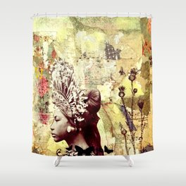 Seeking Serenity Shower Curtain