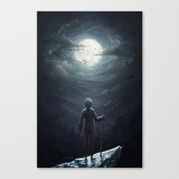 jack frost Canvas Prints featuring Jack Frost by Westling