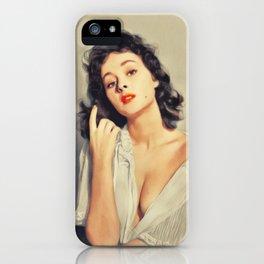 Marla English, Vintage Actress iPhone Case