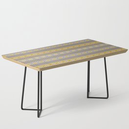 Granny's Fairisle - Honey Yellow Coffee Table
