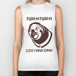 Zootopia Flash flash hundred yard dash Sloth Women man Children Sloth Biker Tank