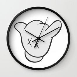 Shaka KAWS Wall Clock