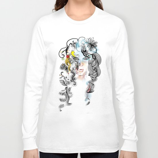 lined Long Sleeve T-shirt