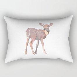 Baby Deer Art Rectangular Pillow