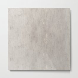 Stains on Concrete Metal Print