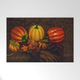 Autumn Pumpkins Welcome Mat