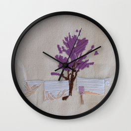 On the Line Wall Clock