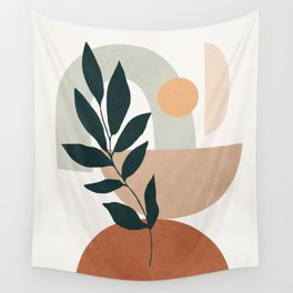 Soft Shapes IV Wall Tapestry