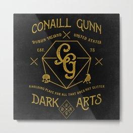 Conaill Gunn Dark Arts ( Prism Monogram )  Metal Print
