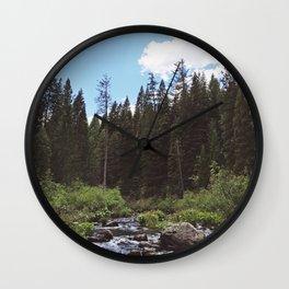 NTO THE WILD VIII Wall Clock