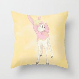 Deerling Throw Pillow