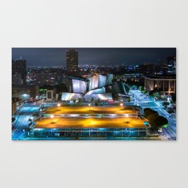 Concert Hall In LA Canvas Print