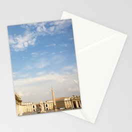 St. Peter's Square In Vatican Stationery Cards