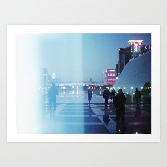 Shenzhen Art Print