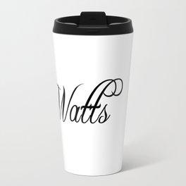 Watts Travel Mug