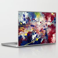 fireworks Laptop & iPad Skins featuring Fireworks by Tia Hank