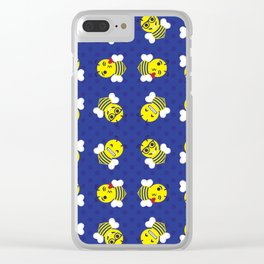 Yellowjacket Emojis Clear iPhone Case