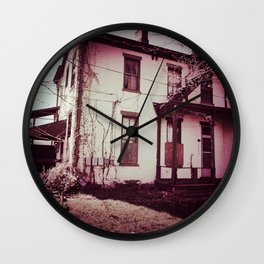 A Squatter's Paradise Wall Clock