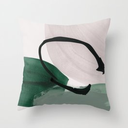 minimalist painting 01 Throw Pillow