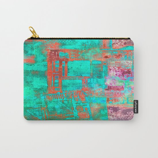 Abstract Ladder Carry-All Pouch