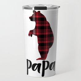 Christmas Papa Travel Mug