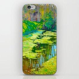 Václav Radimský (1867-1946) Modern Impressionist Oil Painting Colorful Bright Landscapes iPhone Skin