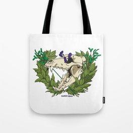 Death & Victory Tote Bag