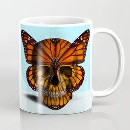 SKULL (MONARCH BUTTERFLY) Coffee Mug
