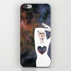 Love is infinite as the Cosmos iPhone & iPod Skin