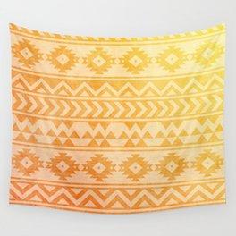 Aztec Pattern 08 Wall Tapestry