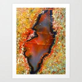 Red Vibes Art Print