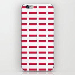 Flag of poland – poland,Polish,Polska,pole,Warsaw,krakow iPhone Skin