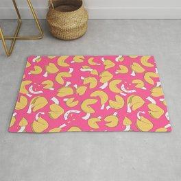 Fortune Cookie Pattern (Pink) Rug