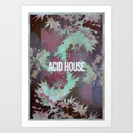 Acid House III Art Print