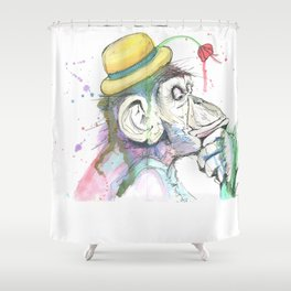 Hmm Shower Curtain